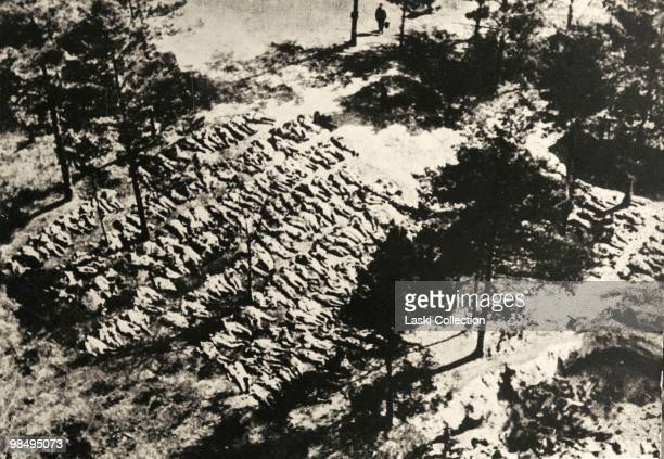 The bodies of the Polish officers in mass graves The Katyn Massacre of 1940 was w mass execution of Polish military officers by the Soviet Union...