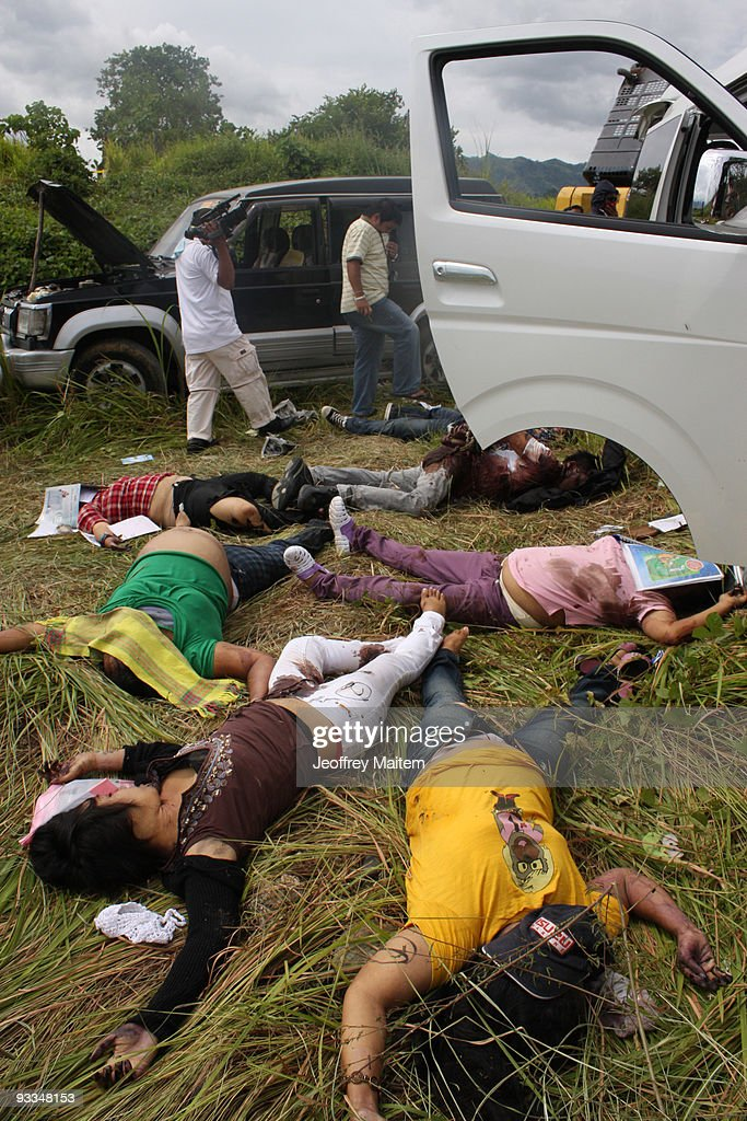 Massacre In Southern Philippines Ahead Of May 2010 Elections : News Photo