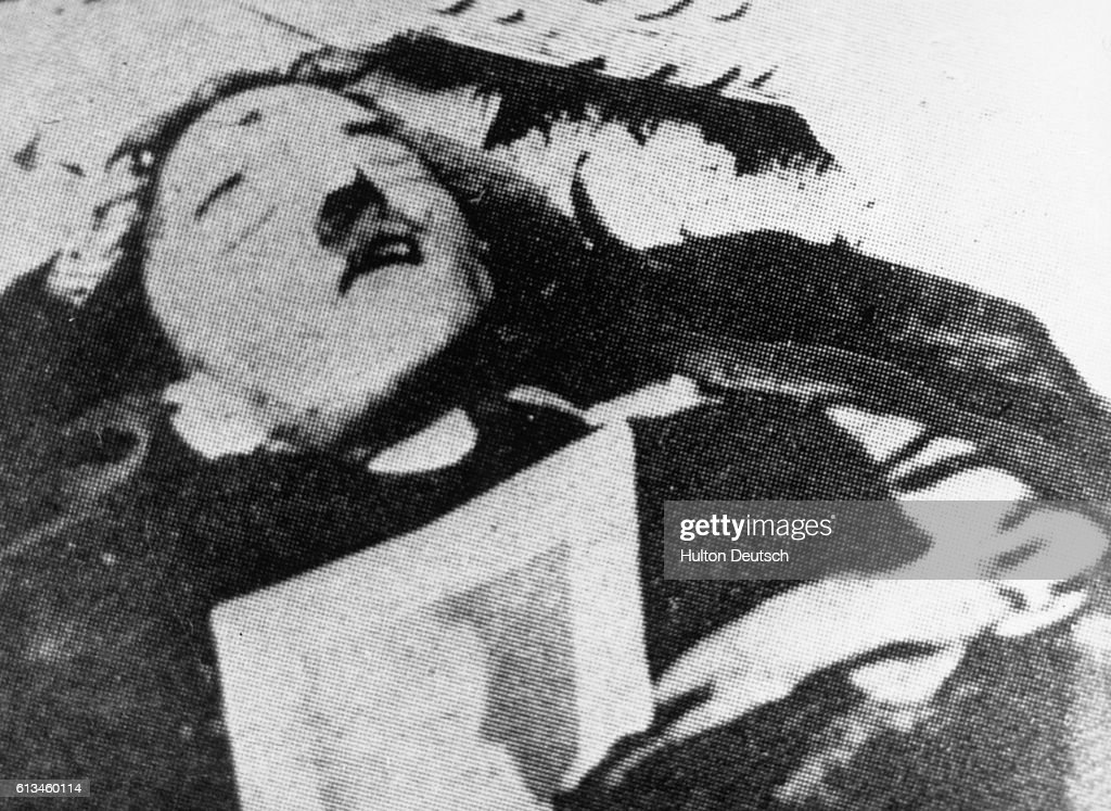 Dead Body Claimed to be Adolf Hitler : News Photo