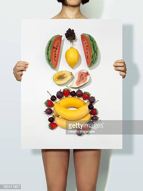 The body made with fruits