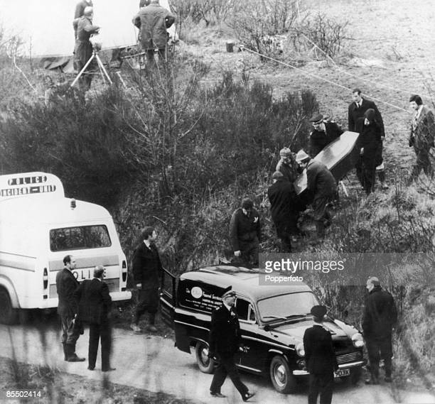 The body of 17yearold Lesley Whittle is recovered from Bathpool Park in Staffordshire March 1975 Whittle had been murdered by serial killer Donald...