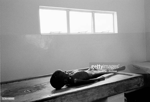 The body of 8 year old James Banda lies in a morgue in Zambia The boy lived in a very poor community called Freedom about 10km from Lusaka and was...