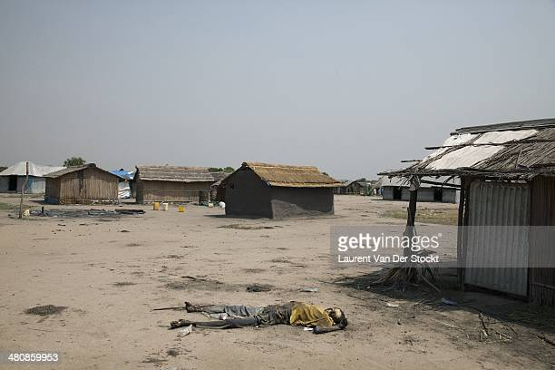JANUARY 30 2014 The body of a man killed in the district of Leodiet at the edge of the Nile Photograph Laurent Van der Stockt/Edit by Getty Images