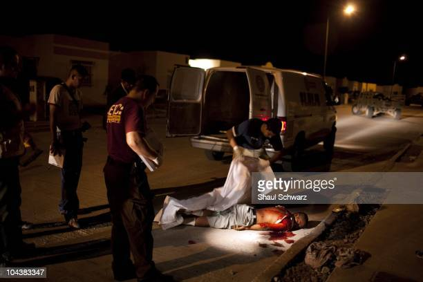 The body of a young murdered man found shot to death on the side of the road in a residential neighborhood August 3 in Palomas Palomas is a small...