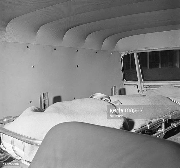 The body of actress Marilyn Monroe arrives at the mortuary August 5th The actress was found dead in her home earlier in the day from an overdose of...