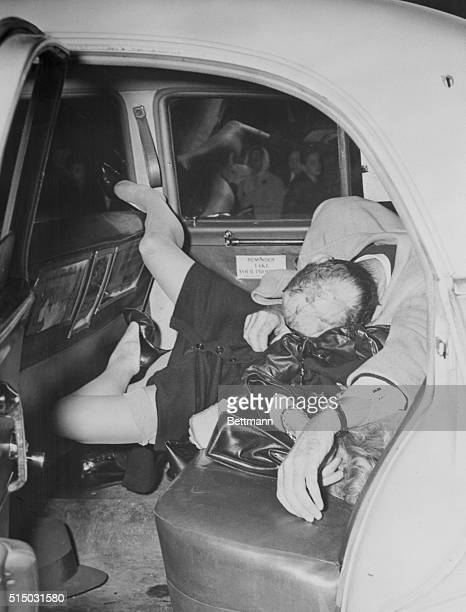 The body of Howard Rushmore was found slumped over that of his estranged wife Frances in a taxicab in front of the 23rd precinct East 104 Street...