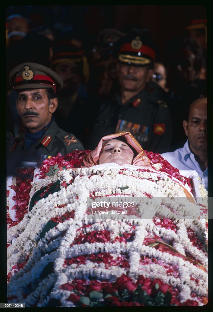 Indian Prime Minister Indira Gandhi was assassinated by two security guards on 31 October 1984