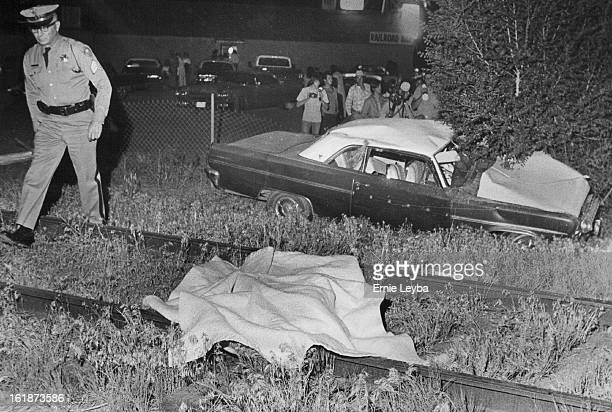 JUN 14 1974 JUN 15 1974 The Body Of Ronald Scott Lies On Railroad Tracks In Adams County Scott was killed at 1050 pm Friday when his car was hit by a...