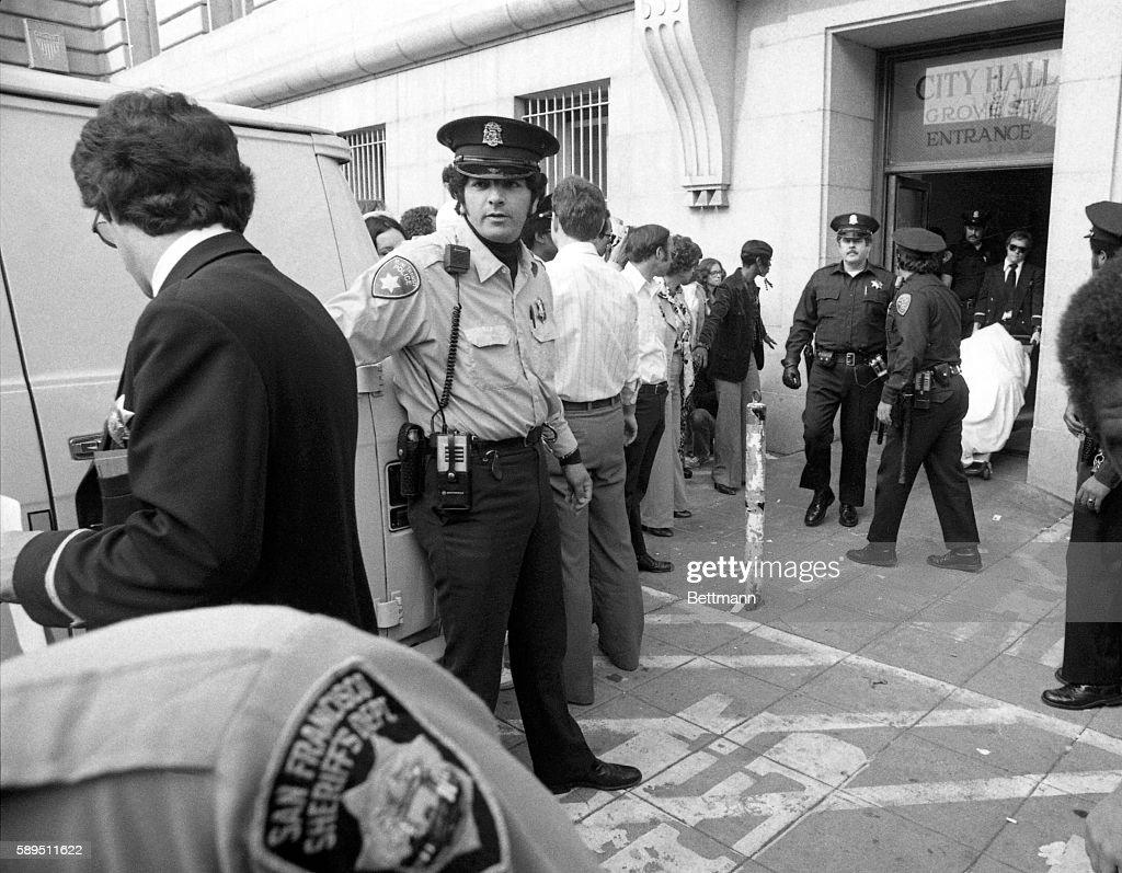 The Body of Harvey Milk : News Photo