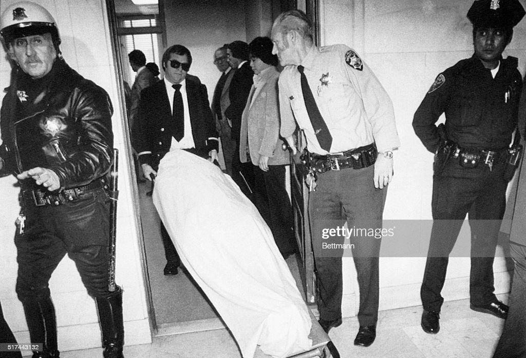 Body of Harvey Milk : News Photo