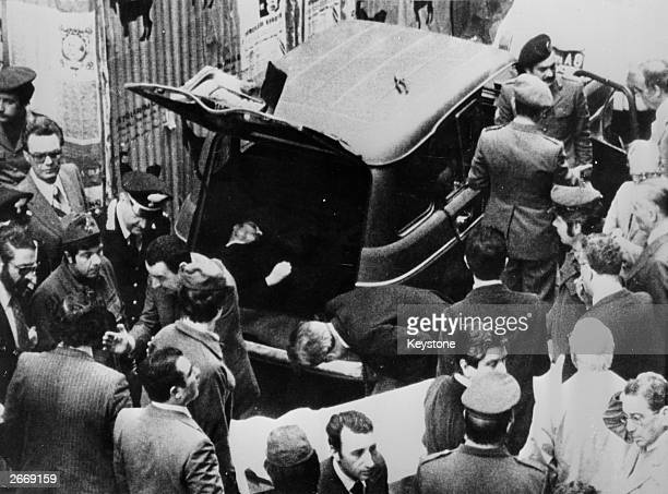 The body of the former Italian Prime Minister and Christian Democrat leader Aldo Moro is found in the back of a van parked in a street in Rome Moro...