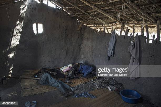 JANUARY 30 2014 The body of two men killed in a house of the district of Marol close to the center of the town Photograph Laurent Van der Stockt/Edit...