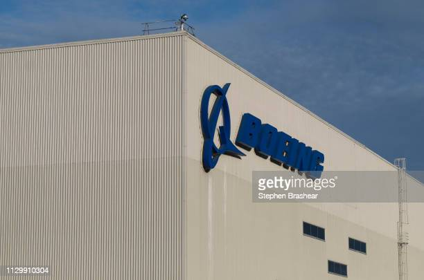 The Boeing 737 factory is pictured on March 11 2019 in Renton Washington Boeing's stock dropped today after an Ethiopian Airlines flight was the...