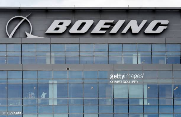 The Boeing regional headquarters is seen amid the coronavirus pandemic on April 29 in Arlington Virginia Boeing announced sweeping costcutting...
