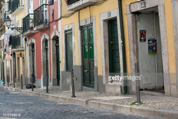 The bohemian Bairro Alto in Lisbon has steep cobbled streets through which tourists pass to take the Elevador da Bica Many of the neighborhood's...