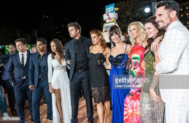 The Bold and the Beautiful cast Darren Brooks Rome Flynn Reign Edwards Pierson Fode Courtney Hope Jacqueline MacInnes Wood Katherine Kelly Lang...
