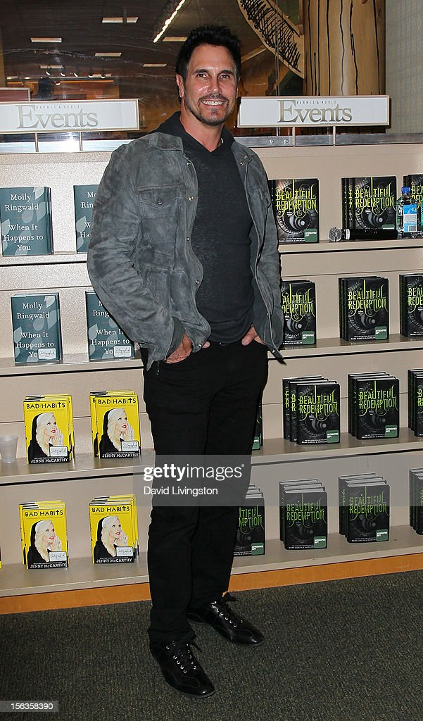 'The Bold and the Beautiful' cast member Don Diamont attends a signing for 'Becoming Bold & Beautiful' at Barnes & Noble bookstore at The Grove on November 13, 2012 in Los Angeles, California.