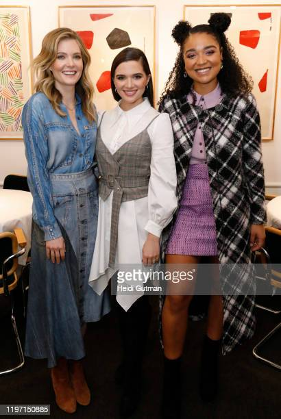 FREEFORM The Bold Type stars Katie Stevens Aisha Dee Meghann Fahy and Melora Hardin joined powerful women across media for a luncheon hosted by The...