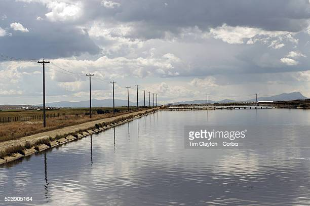 The Bolivian Ministry of Water treatment plant at Puchuckollo, is run by state-owned Bolivian water utility EPSAS which manages the water...