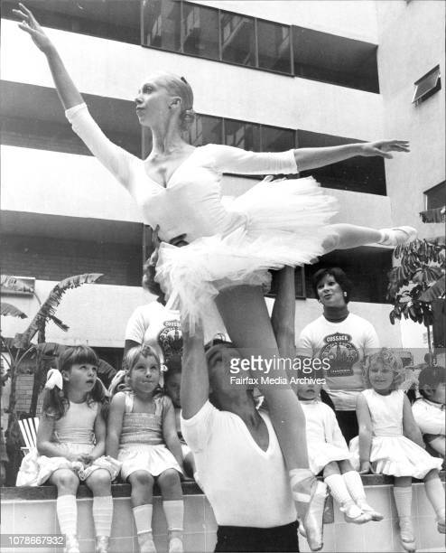The Bolshoi Ballet Company with 90 members arrived in Sydney today and met the press and media at the Florida Motor Inn Potts Point two dancers in...