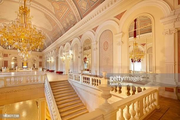 The Bolshoi Ballet Theater's First Floor Hall on September 26 3011 in Moscow Russia
