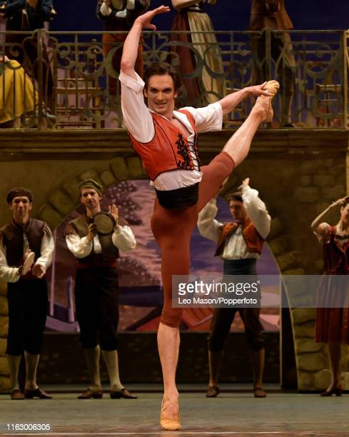 The Bolshoi Ballet's production of Don Quixote at The Royal Opera House in Covent Garden London England 15th August 2019