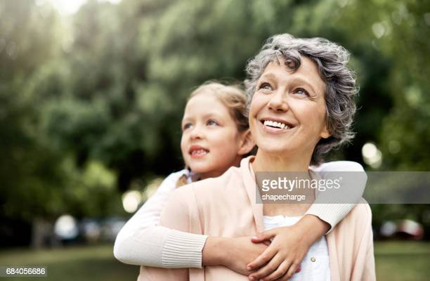 the bond between grandparent and grandchild is uniquely special - grandmother stock pictures, royalty-free photos & images
