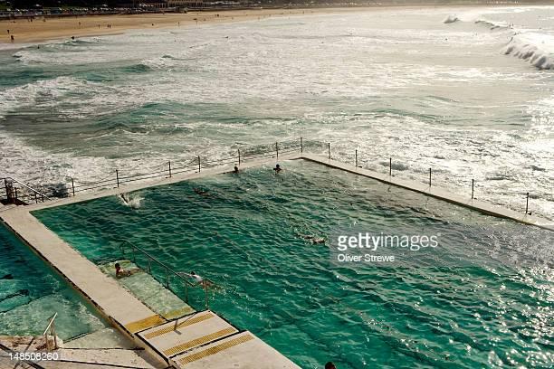 The Bondi Icebergs ocean pool.