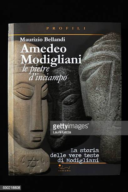 The book 'Amedeo Modigliani. Le pietre d'inciampo. La storia delle vere teste di Modigliani' written by Maurizio Bellandi and edited by Sillabe is...