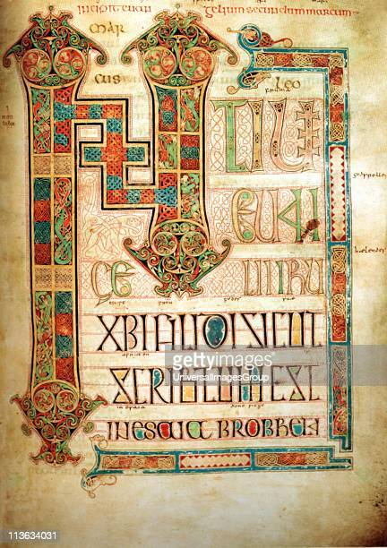The Book of Kells is an illuminated manuscript Gospel book in Latin containing the four Gospels of the New Testament together with various prefatory...
