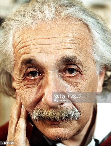 Page 9 Picture 9 February 1944 Professor Albert Einstein in his home in the suburbs of Princeton New Jersey USA