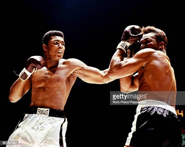 The Book, Volume 1, Page Picture Boxing, 14th November Houston, Texas, Action from the bout between Cassius Clay and Cleveland Williams, Clay won by...