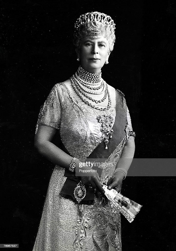 The Book, Volume 1, Page, 27,Picture, 9. Queen Mary, wife of King George V, in her Silver Jubilee year 1935. : News Photo