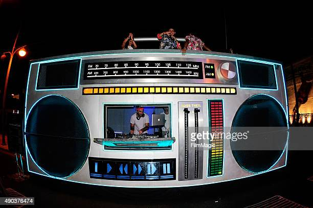 The Boombox during day 3 of the 2015 Life is Beautiful festival on September 27 2015 in Las Vegas Nevada
