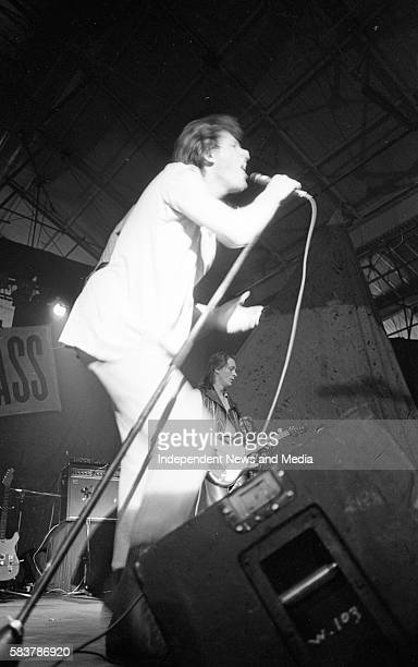 The Boomtown Rats concert in the RDS in Dublin