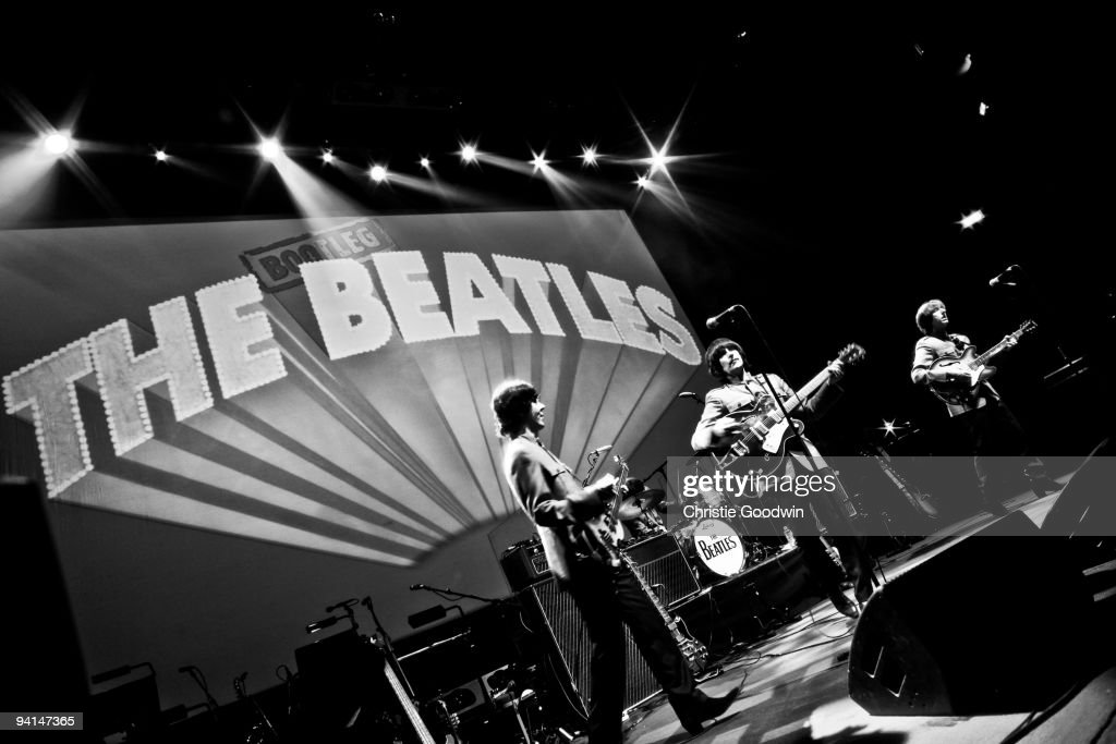 The Bootleg Beatles perform on stage and celebrate their 30th anniversary at the Royal Albert Hall on December 7, 2009 in London, England.