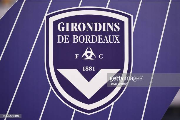 The Bordeaux crest during the Ligue 1 match between Girondins Bordeaux and OGC Nice at Stade Matmut Atlantique on March 1, 2020 in Bordeaux, France.