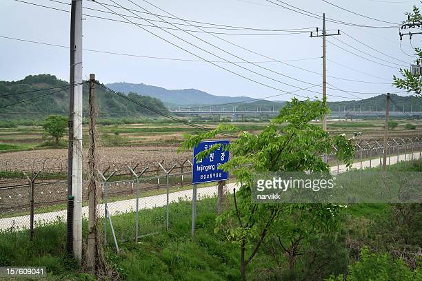 The Border Between North and South Korea