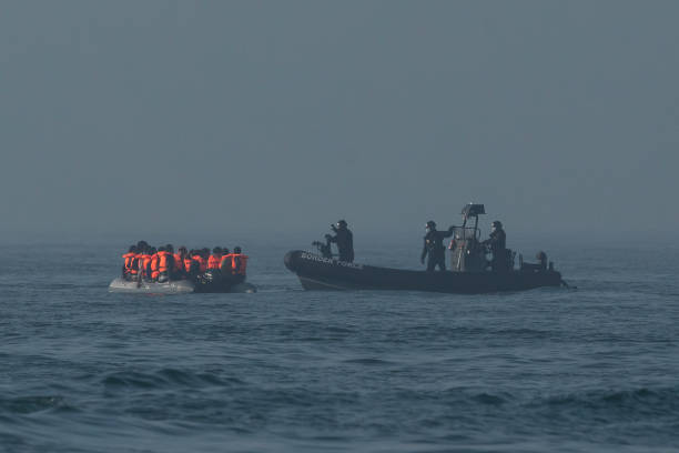 GBR: Migrants Cross English Channel From France.