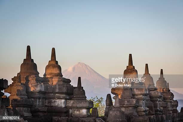 The Borobudur temple near Jogjakarta