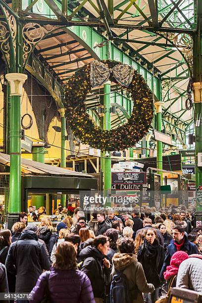 The Borough Market during the Christmas period