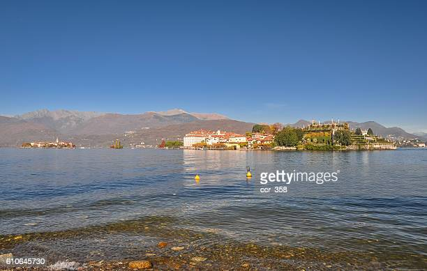 The Borromean Islands from Stresa