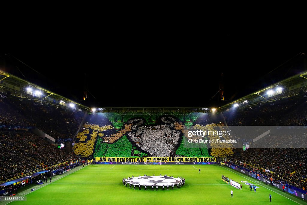 Borussia Dortmund v Tottenham Hotspur - UEFA Champions League Round of 16: Second Leg : ニュース写真