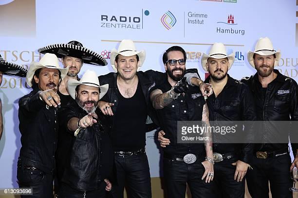 The BossHoss attends the Deutscher Radiopreis at Schuppen 52 on October 6 2016 in Hamburg Germany
