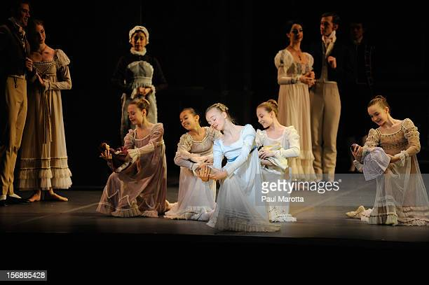 The Boston Ballet's opening night performance of the world premiere of Mikko Nissinen's 'The Nutcracker' at Boston Opera House on November 23 2012 in...
