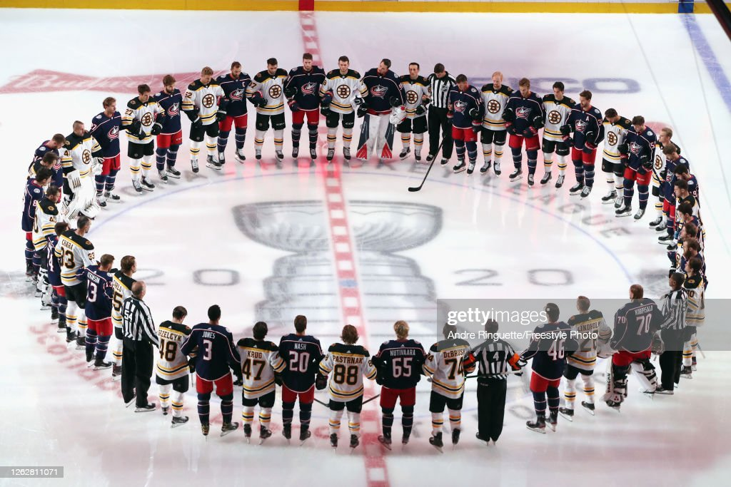 Boston Bruins v Columbus Blue Jackets : News Photo
