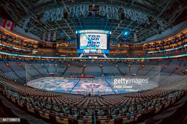 The Boston Bruins will take on the Toronto Maple Leafs in Game Three of the Eastern Conference First Round during the 2018 NHL Stanley Cup Playoffs...