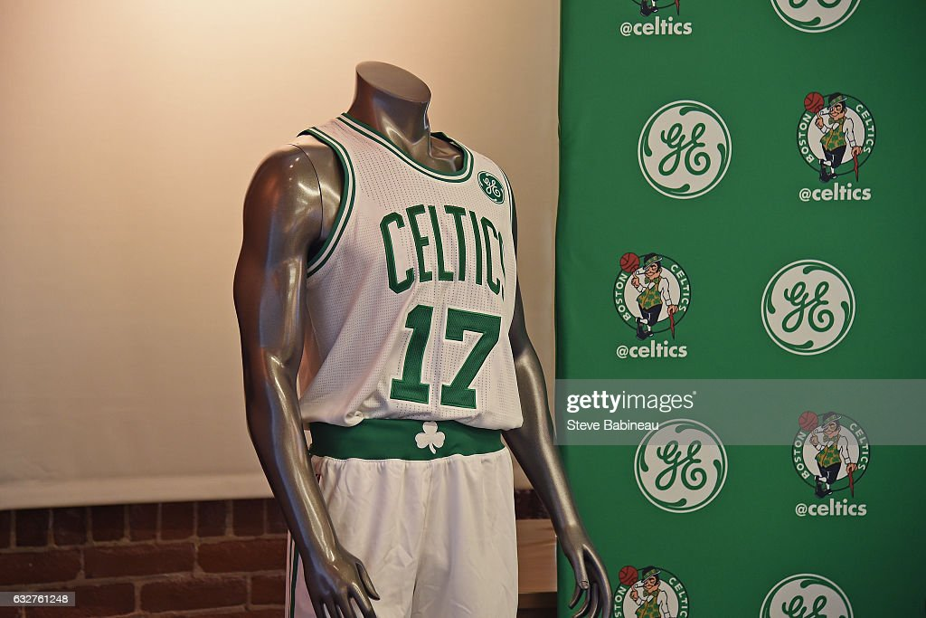 pretty nice 80bf5 3eb9e The Boston Celtics and GE announce a multiplayer partnership ...