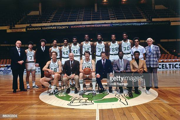 The Boston Celtics pose for a team portrait in 1978 at the Boston Garden in Boston Massachusetts NOTE TO USER User expressly acknowledges and agrees...