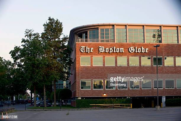 The Boston Globe building stands in the Dorchester section of Boston Massachusetts US on Monday July 6 2009 New York Times Co delayed accepting bids...